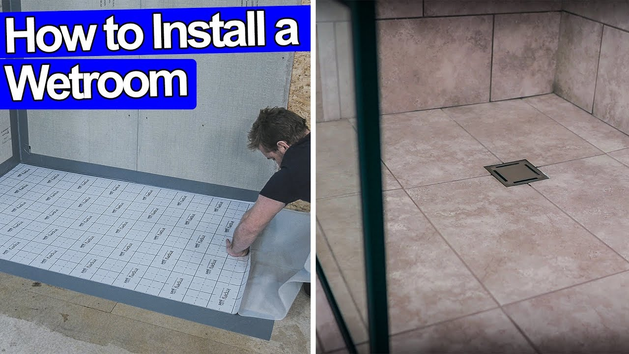 impey wet room installation instructions