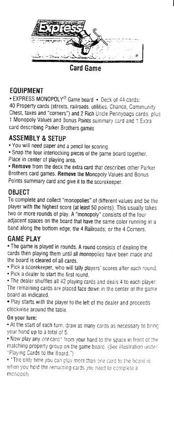 The game.of life junior instructions pdf