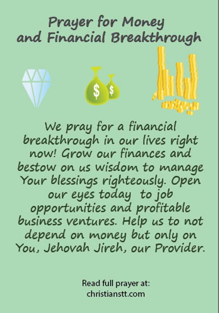 Prayer for financial breakthrough pdf