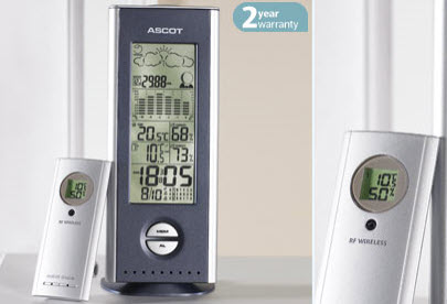 Ascot weather station w108 1 instructions