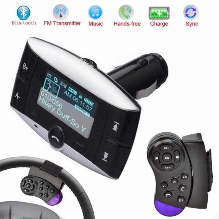 car mp3 fm transmitter instructions