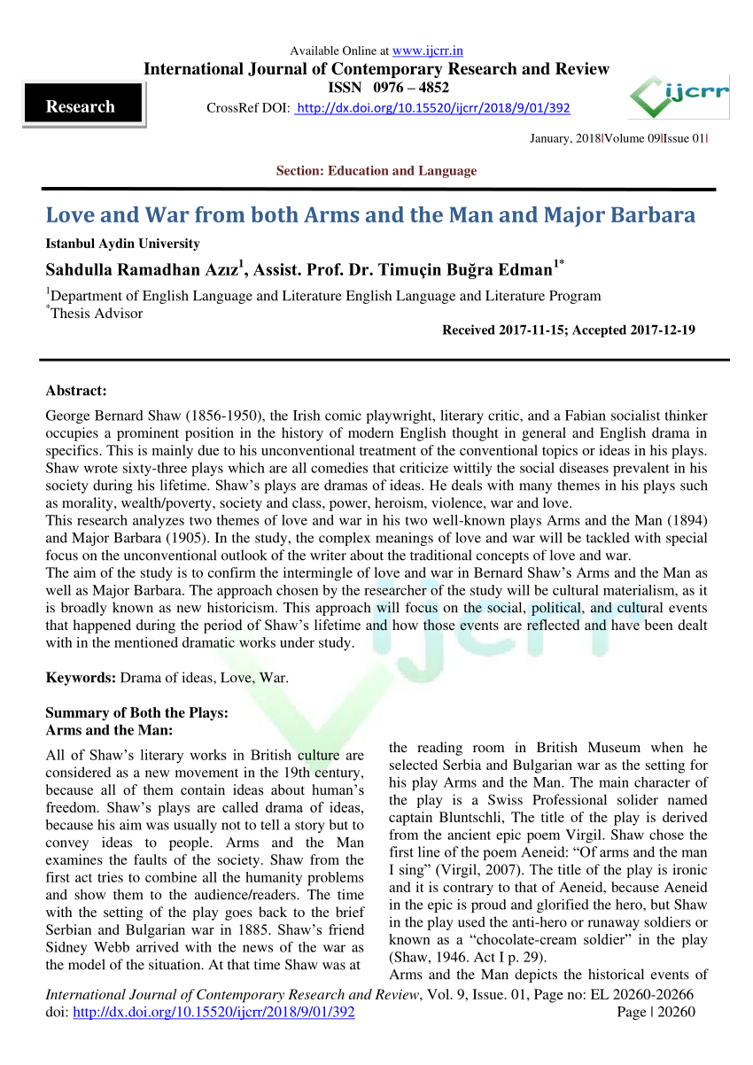 Arms and the man full text pdf