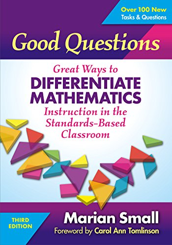 good questions great ways to differentiate mathematics instruction pdf