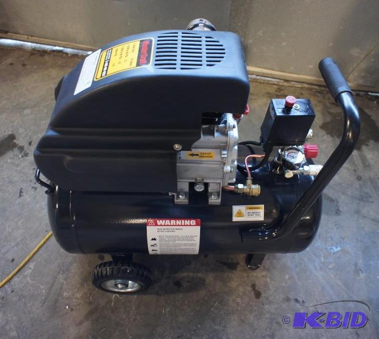 Mastercraft 10 gallon air compressor manual