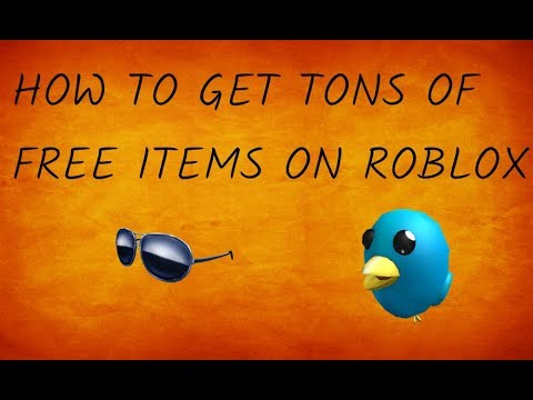 Roblox how to get limited items for free