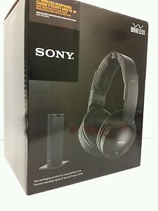 Sony wireless headphones mdr rf985rk manual