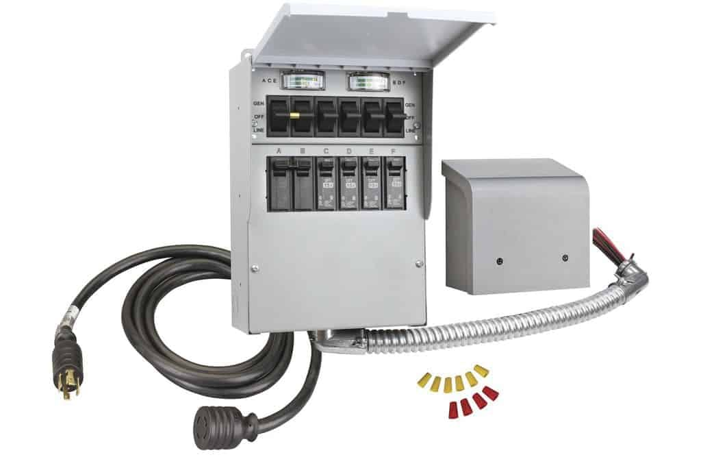 eaton manual transfer switch for portable generator