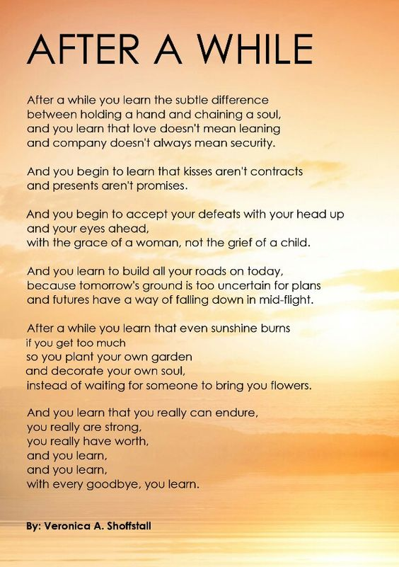 After a while poem pdf