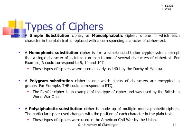 Different kinds of codes and ciphers pdf