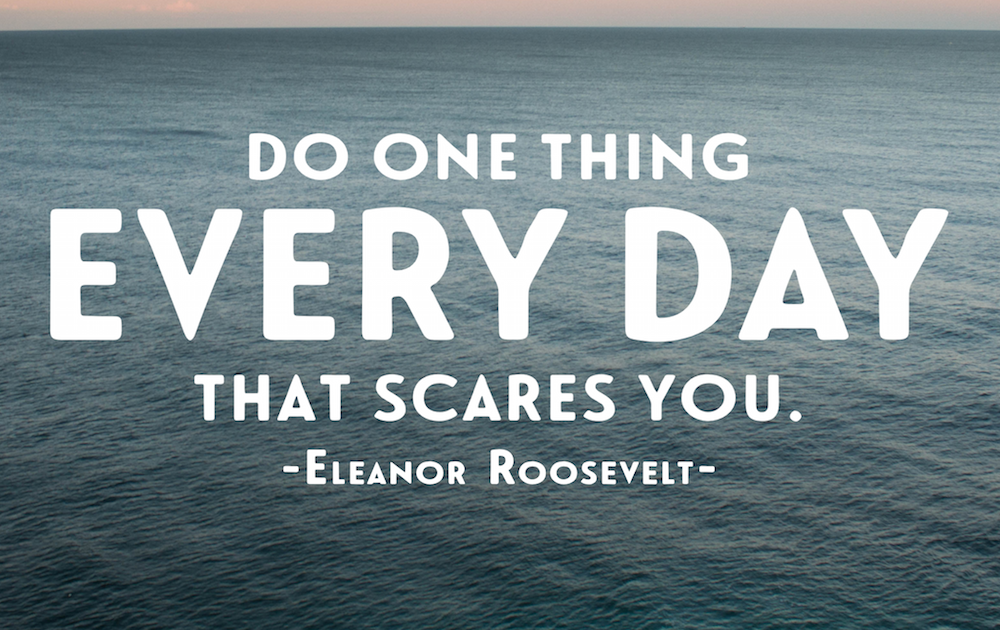 Do one thing everyday that scares you pdf