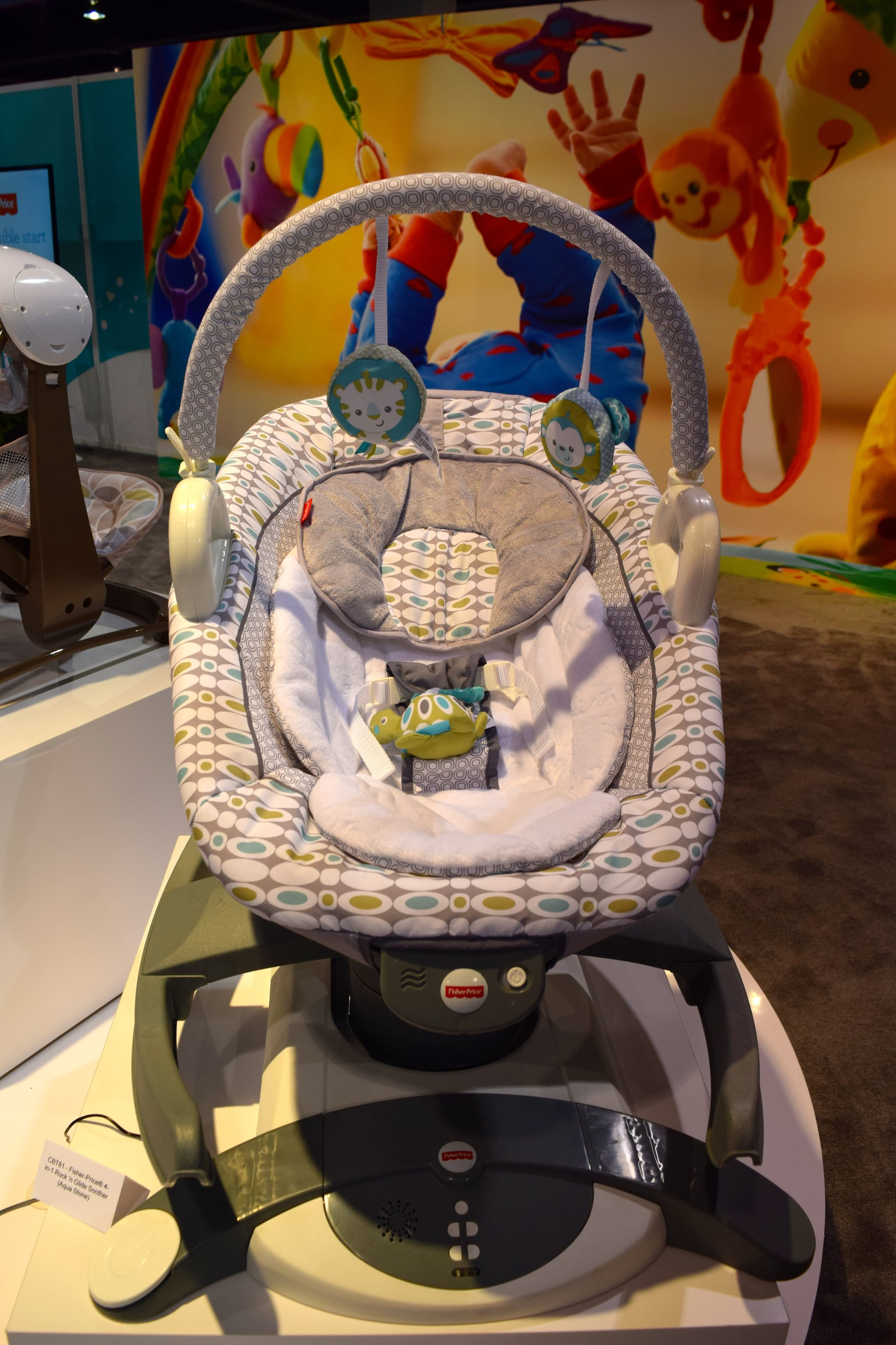 Fisher price 4 in 1 rock n glide soother manual