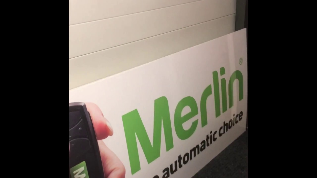 Merlin remote control programming instructions